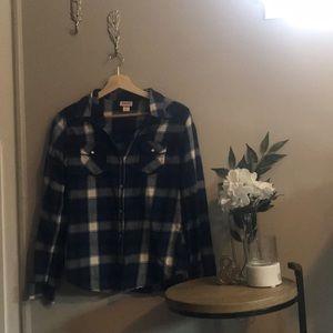 Plaid Button Up Junior's Flannel